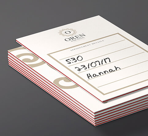 Triple layer appointment cards your digital printing company colourmoves